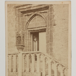 Portada de la capilla del castillo de St. Michael's Mount, Cornualles