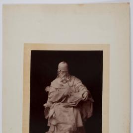 Modelo de estatua a san Isidoro
