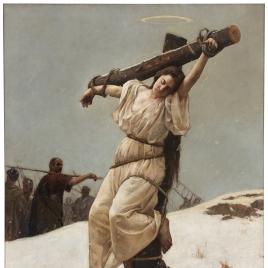 El martirio de santa Eulalia