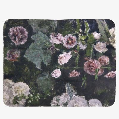"""Hollyhocks"" Mousepad and cleaner"