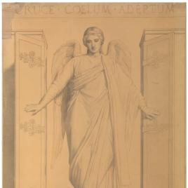 Ángel (Capilla de la Eucaristía, iglesia de Nuestra Señora de Loreto, París)