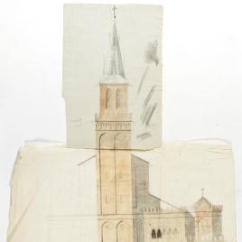 Alzado para la Iglesia Evangélica Española, Madrid