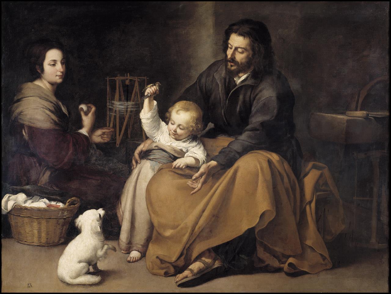 Sagrada Familia del pajarito [Murillo]