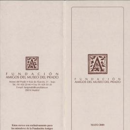 Fundación Amigos del Museo del Prado : mayo 2000 : [Las pinturas de la Santa Cueva de Cádiz ] / Amigos del Museo del Prado