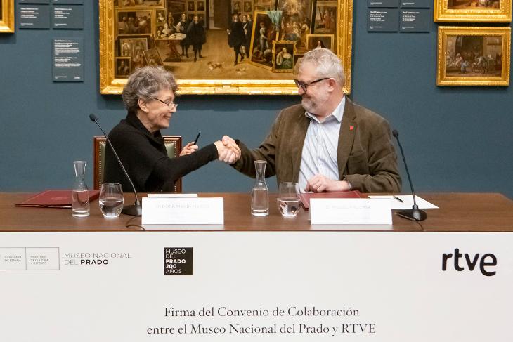 Radio Televisión Española se compromete con la celebración del Bicentenario del Prado