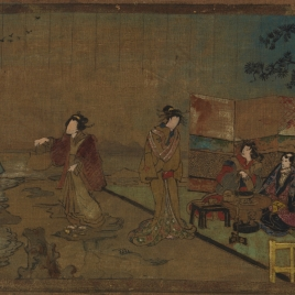 Escena japonesa (boceto)