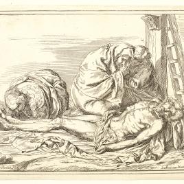 Lamentación sobre el cuerpo de Cristo muerto