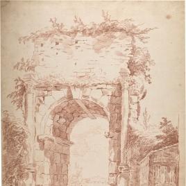 El Arco de Druso en Roma