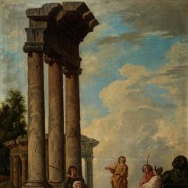 San Pablo predicando en unas ruinas (copia)