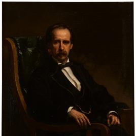El escritor Enrique Pérez Escrich