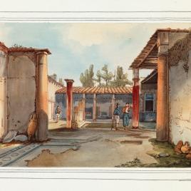 Casa de Salustio en Pompeya