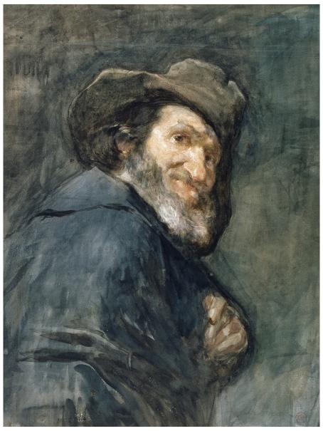 Menipo, detalle (copia de Velázquez)