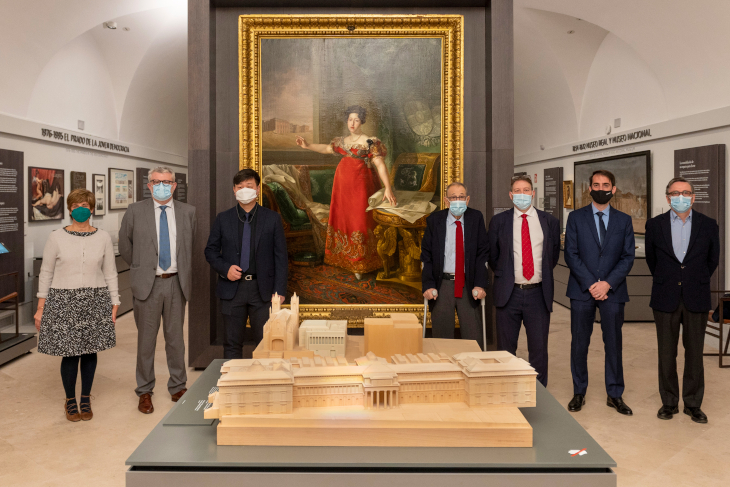 The Museo Nacional del Prado pays tribute to its own history with a permanent installation
