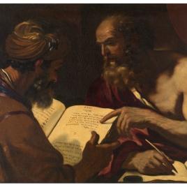 San Jerónimo y un rabino