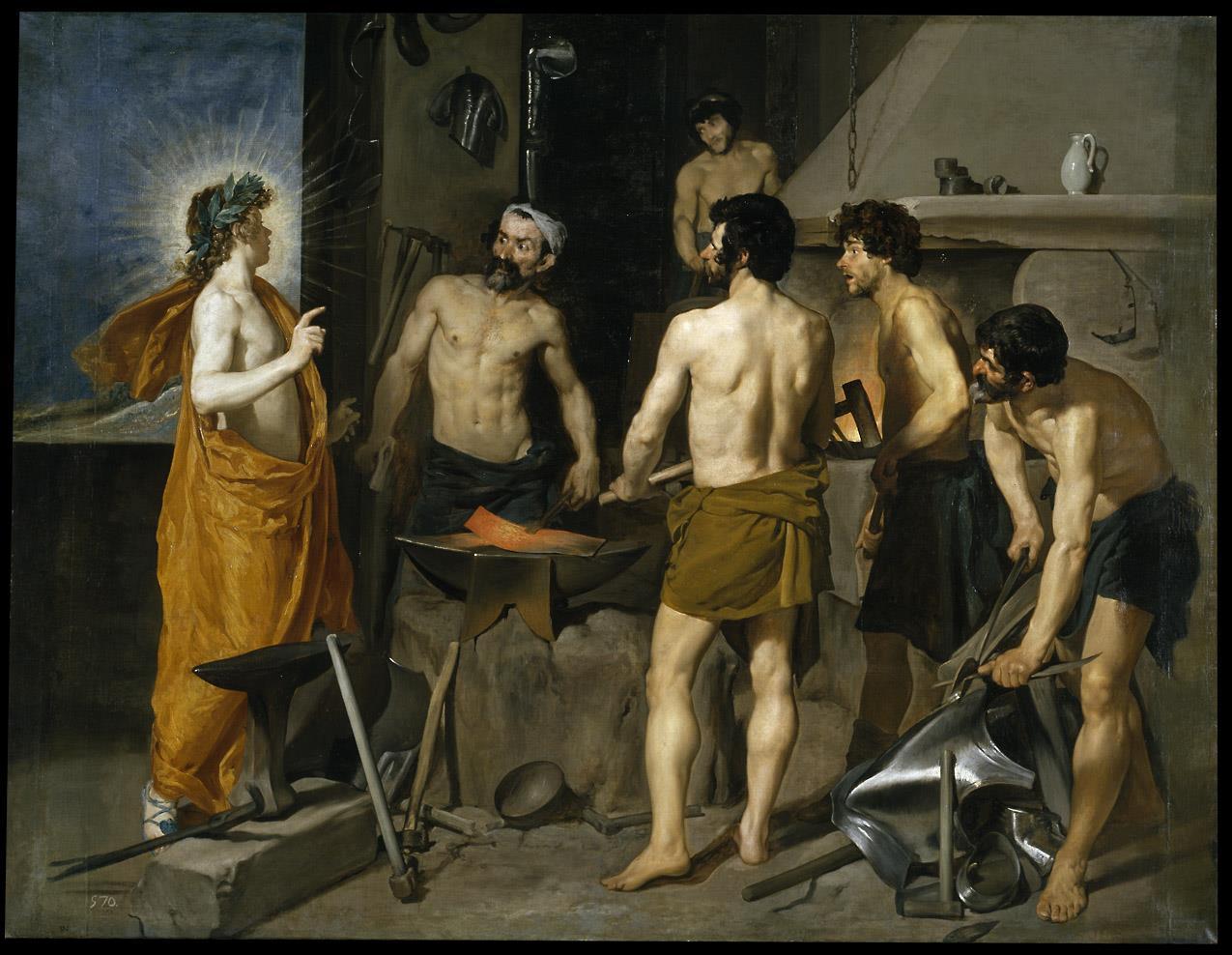 Fragua de Vulcano, La [Velázquez]