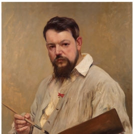 El pintor Joaquín Sorolla