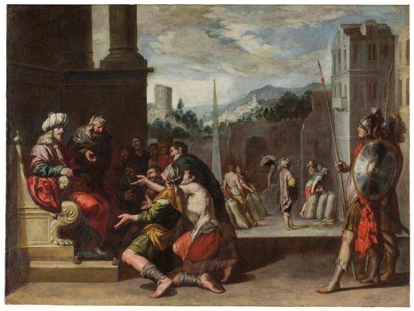 José ordena la prisión de Simeón