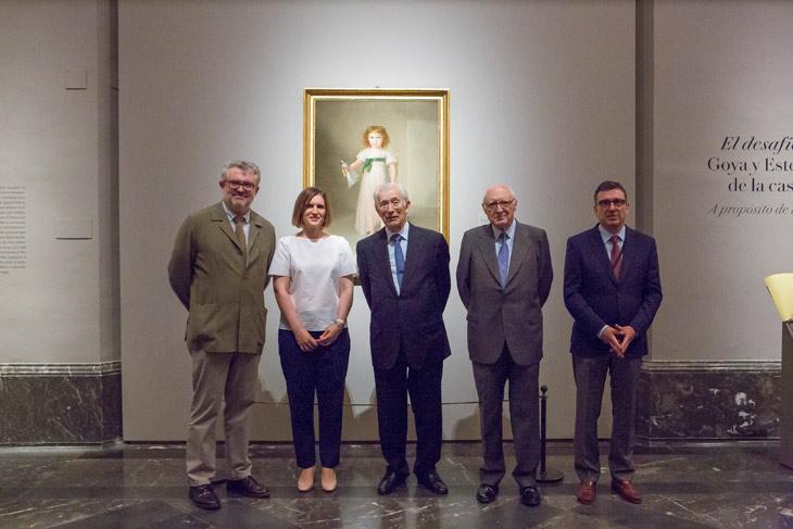 El desafío del blanco. Goya y Esteve, retratistas de la Casa de Osuna