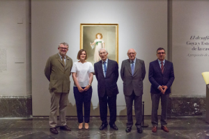 The challenge of white. Goya and Esteve, portraitists to the Osuna family