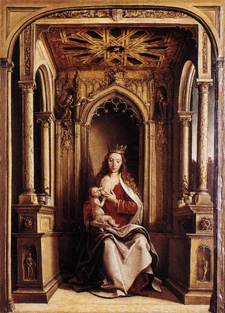 El Museo del Prado recibe Virgen de la leche de Berruguete