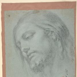 Cabeza para la figura de Cristo
