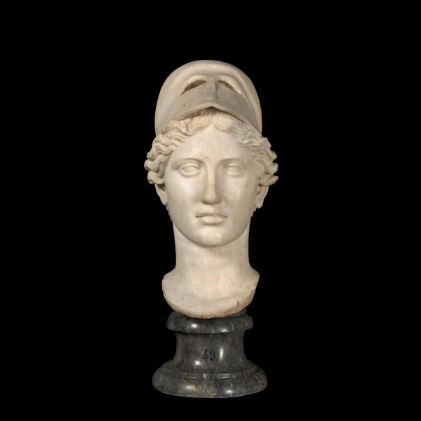Cabeza de Atenea del tipo Velletri