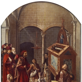 Adoration of the Tomb of Saint Peter Martyr