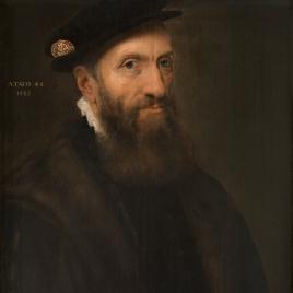 Retrato de un hombre de 48 años