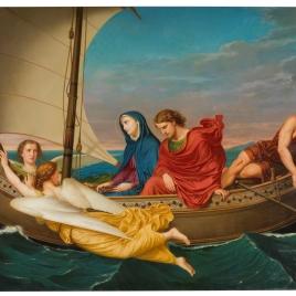Viaje de la santísima Virgen y de san Juan a Éfeso después de la muerte del Salvador