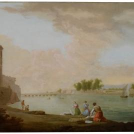 Vista del puente de Tortosa