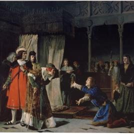 La prisión del príncipe de Viana