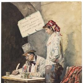 El escribiente de cartas