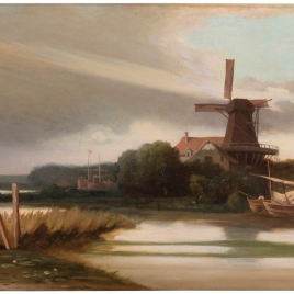 Molino de Dordrecht (Holanda)
