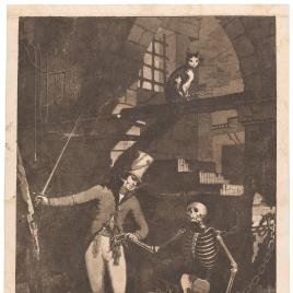 El Heroico Marques de la Romana saca de la esclavitud á la desolada Galicia, y la infunde nuevo ser