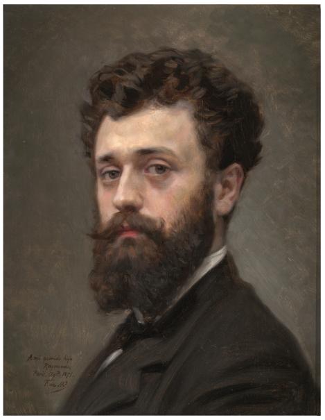 El pintor Raimundo de Madrazo y Garreta, hijo del artista