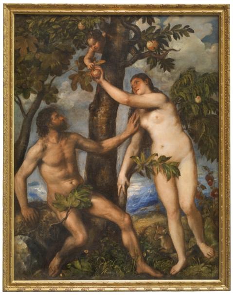 Adán Y Eva Colección Museo Nacional Del Prado