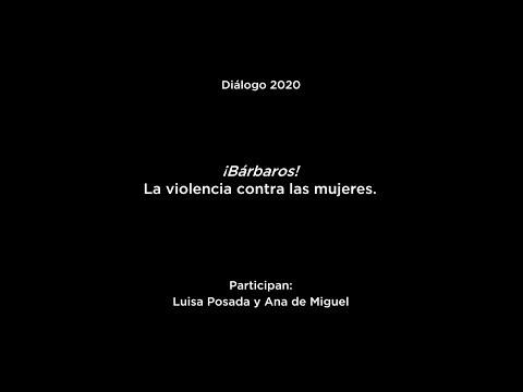 """Diálogo """"Solo la voluntad me sobra"""": Luisa Posada y Ana de Miguel"""