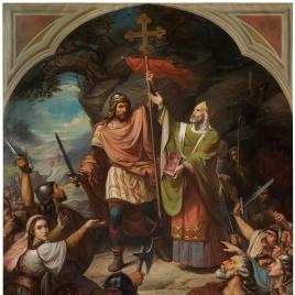 Don Pelayo en Covadonga
