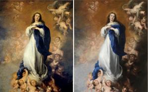 Restauración de la Inmaculada de Los Venerables, de Murillo