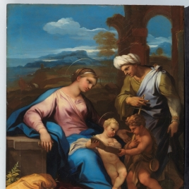 The Holy Family with Saint Elisabeth and the Infant Saint John the Baptist