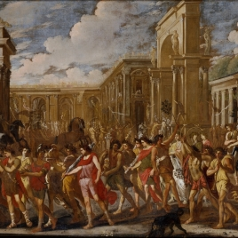Vespasian's Triumphal Entry in Rome