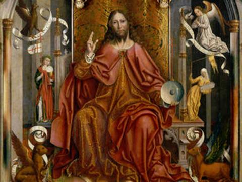<em>Cristo bendiciendo</em>, Fernando Gallego, comentada por José María Cabrera