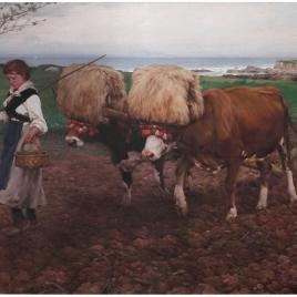Asturias o Arando la tierra (Asturias)