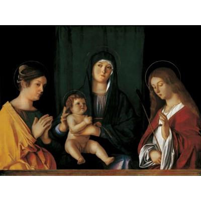 """""""The Virgin and Child between Two Saints"""""""