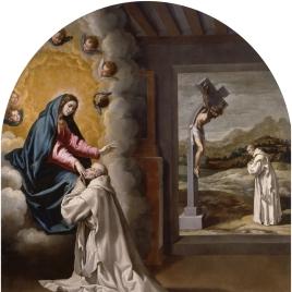 La Virgen se aparece a Juan Fort