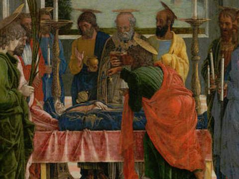 <em>El Tránsito de la Virgen</em>, Andrea Mantegna,  comentada por Federico Torralba
