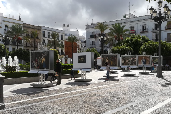 Jerez acoge una muestra al aire libre de reproducciones fotográficas de cincuenta obras de la colección del Museo del Prado