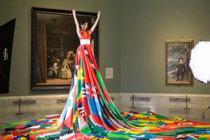 El Museo del Prado, escenario de la iniciativa de la Amsterdam Rainbow Dress Foundation