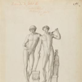 Orestes y Pílades o Grupo de San Ildefonso