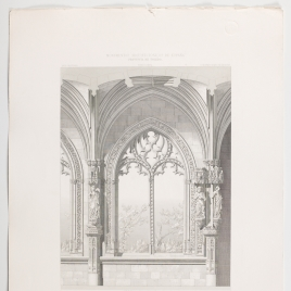 Compartimento del claustro de San Juan de los Reyes en Toledo
